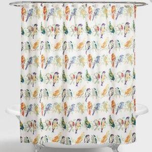 World Market Shower curtain